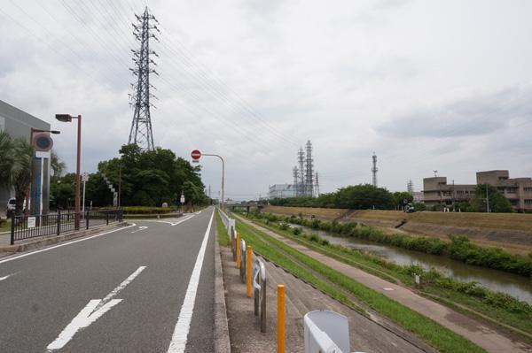 西河原プールの茨木川171方面DSC03374