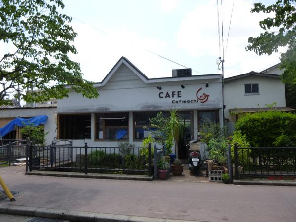 カフェ小町の工事入口側