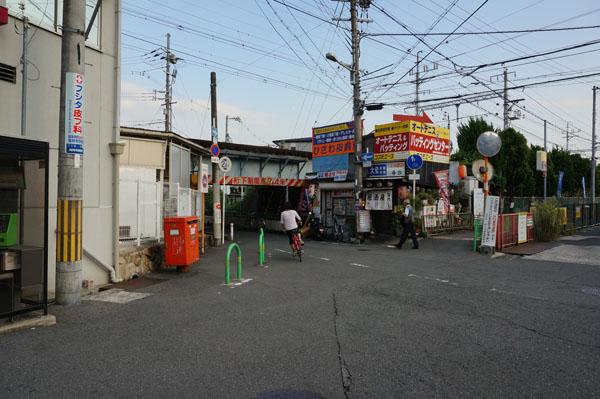 阪急総持寺の高架