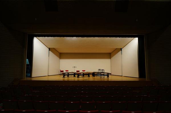 福祉文化会館ステージ全景