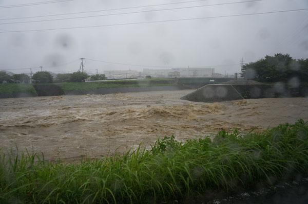 台風接近で、茨木は今・・・【安威川あたり】 |茨木ジャーナル(いば ...