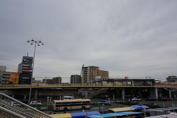 JR茨木から南西