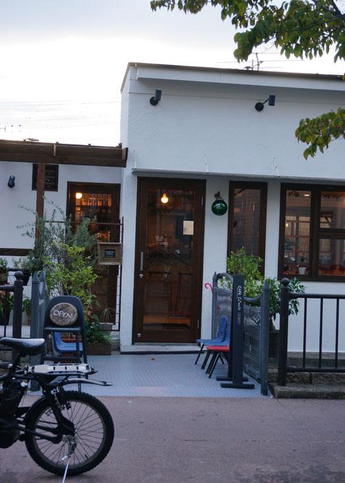 カフェ小町の入り口