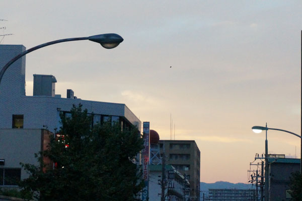 JR茨木北のほうの空DSC06179