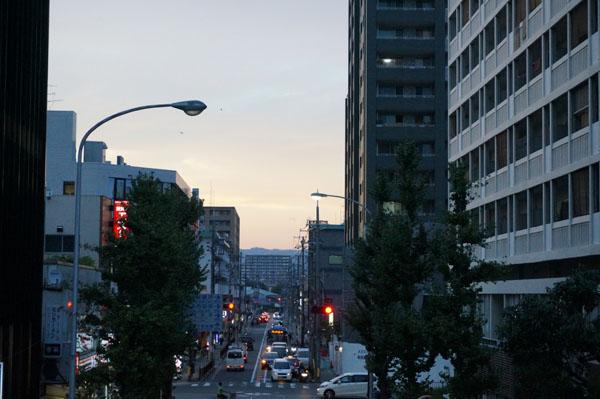 JR茨木北のほうの空2DSC06182