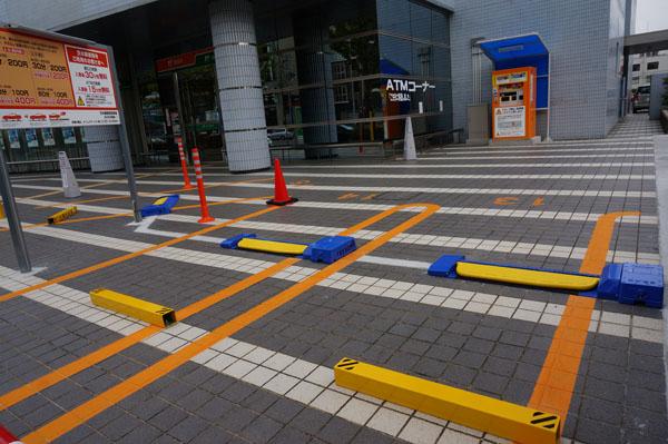 茨木郵便局駐車スペース広がった