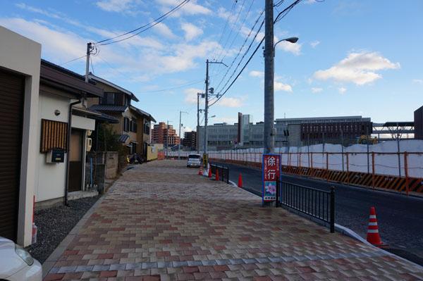 立命館横の歩道