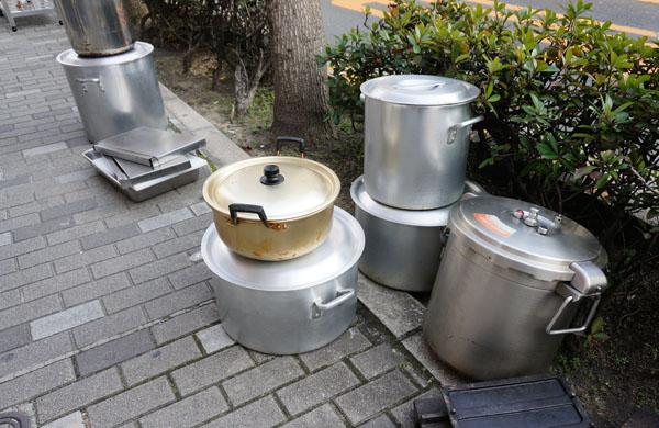 らぁ麺よつばの鍋