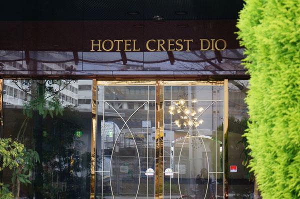 ホテルクレストディオ入口