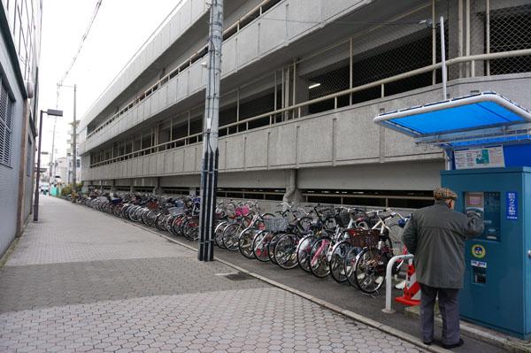茨木市駅前コイン駐輪場
