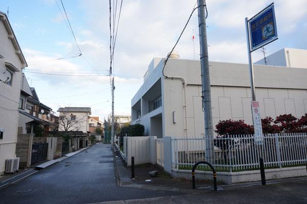茨木大池コミュニティセンターへの道3