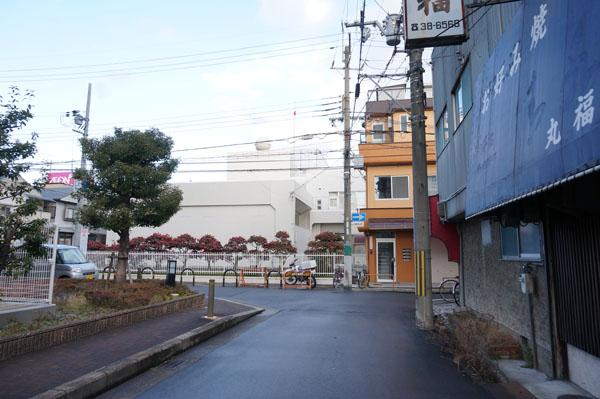 茨木大家kコミュニティセンターへの道2