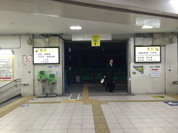 JR茨木駅東口