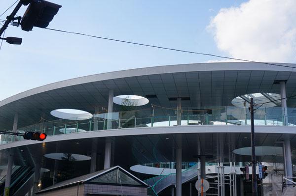 JR茨木駅東口二階部分