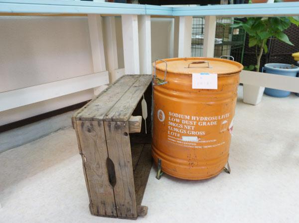 RojiPlantsドラム缶飾り方DSC09559