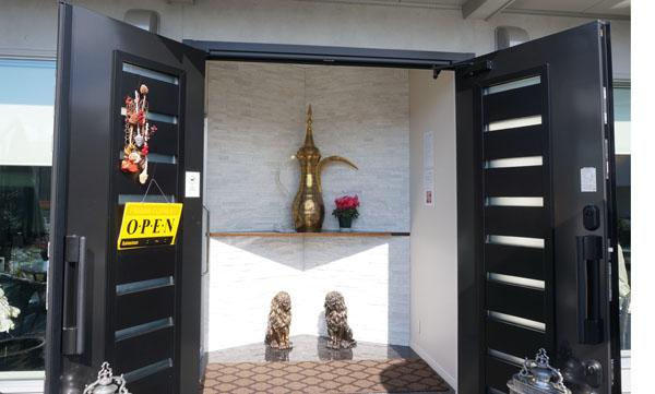 ジュメイラオアシス玄関