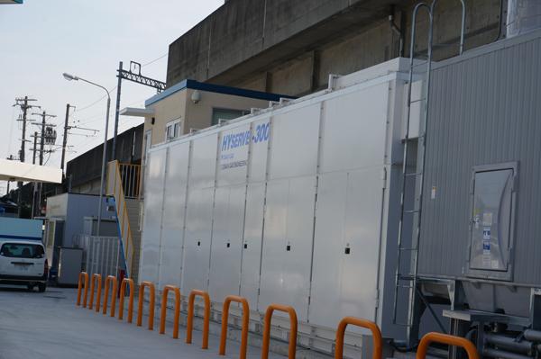 水素ステーションの設備