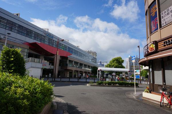 格安切符から阪急方面を見るDSC02082