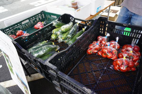 ファミリーマートでチキチキファームの野菜