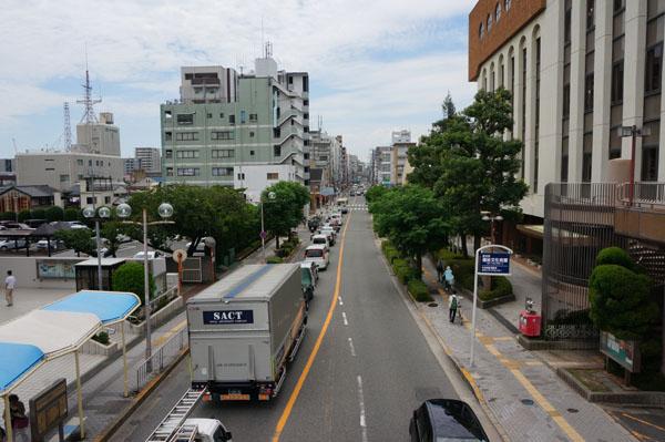 茨木市の道路混雑