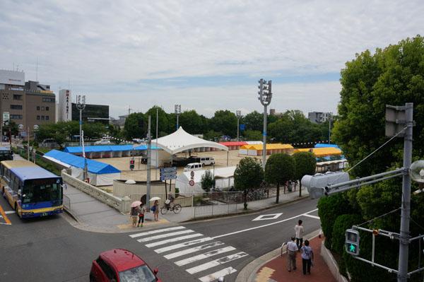茨木フェスティバル前日上から