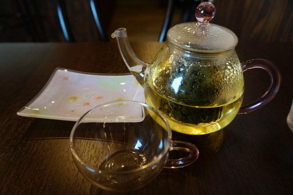 小籠包茶楼の鉄観音茶