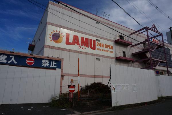 南茨木ラムー工事中DSC03626
