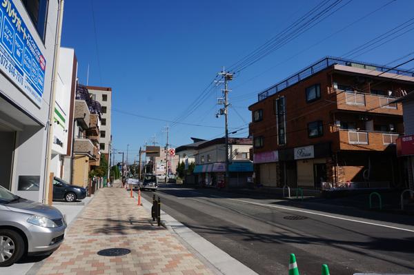 小川町交差点東の方面