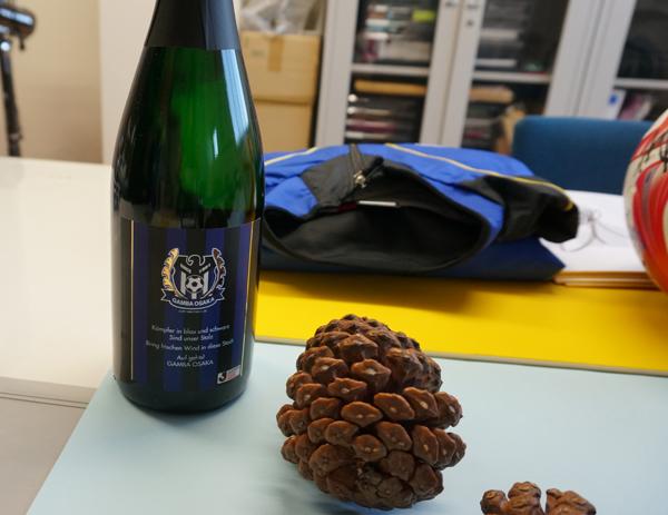 茨木バルの景品・ガンバワイン