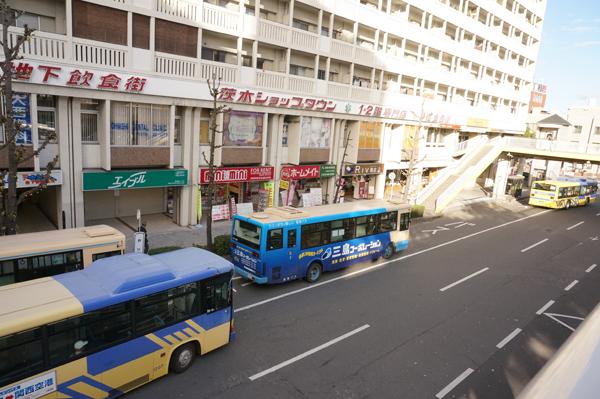 JR茨木西バス降り場