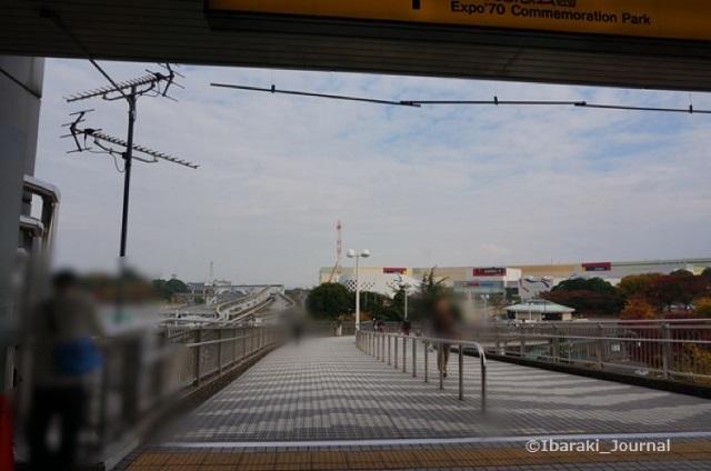 kk201511万博記念公園駅から左へ進むDSC05030
