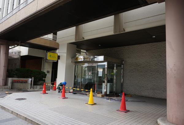 茨木市民会館すずらんの工事