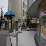 JR茨木デイリーの横の道