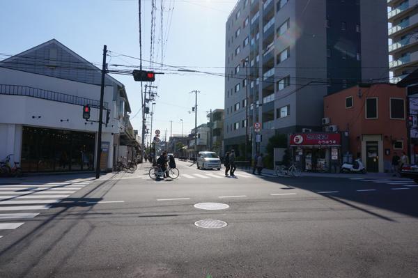 6判官街道の先は中条方面へ