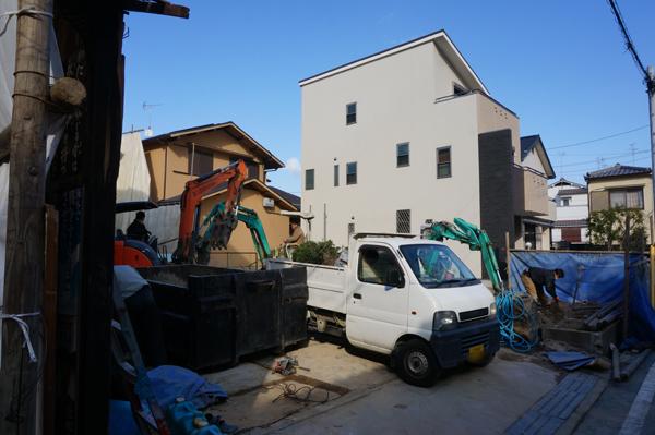 0301大徳旅館の工事現場