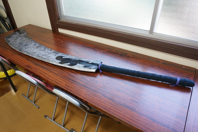 茨木童子の刀