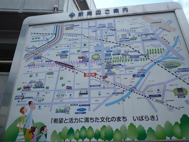 2014年1月阪急駅前マップ