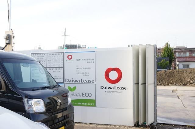 阪急オアシスの工事入口