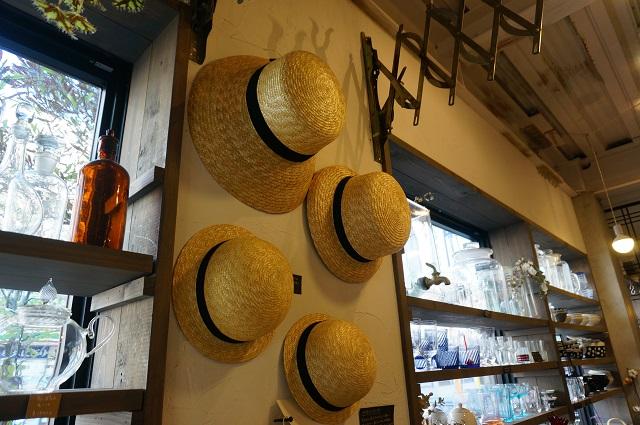 バナナ商店のストローハット
