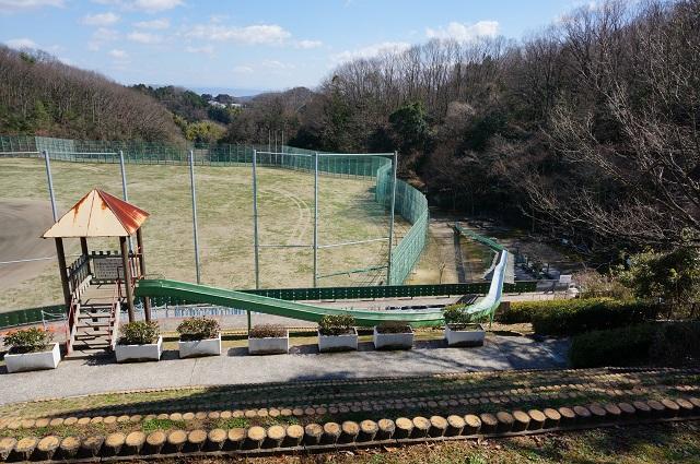 14忍頂寺のスライダー全景