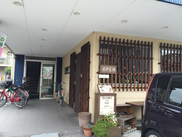 BONOカフェ入口