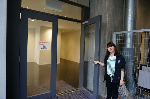 ガンバ大阪クラブハウス入口