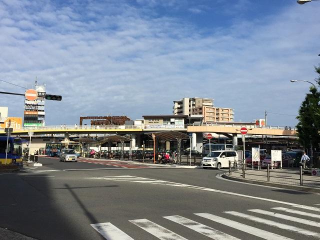 JR茨木駅西側周辺