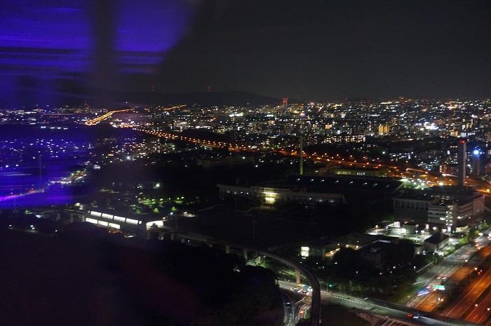 エキスポ観覧車から茨木の街