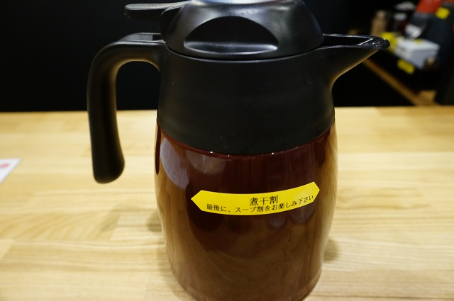 ラーメン石田てっぺい煮干し出汁