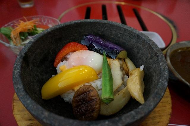 片桐ランチ石焼カレー