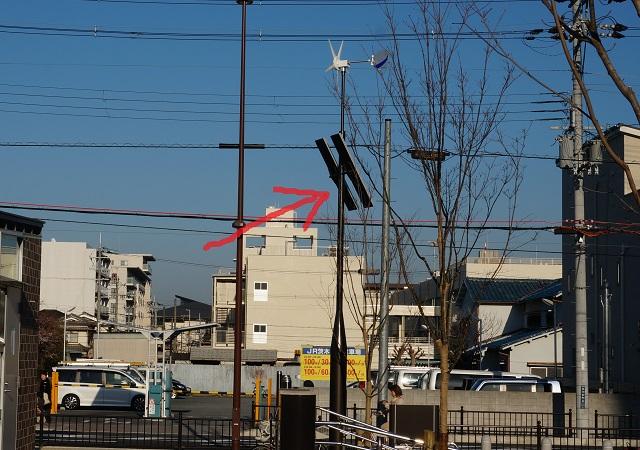 立命岩倉公園防災公園のハイブリッド照明