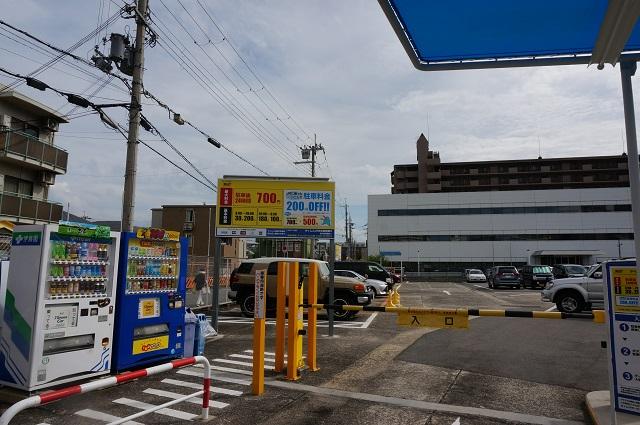タイムズ茨木第3駐車場全景