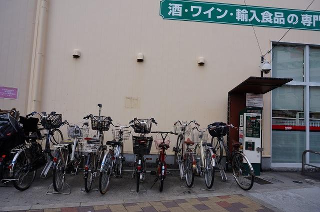 やまやそばの有料自転車駐輪場DSC02841