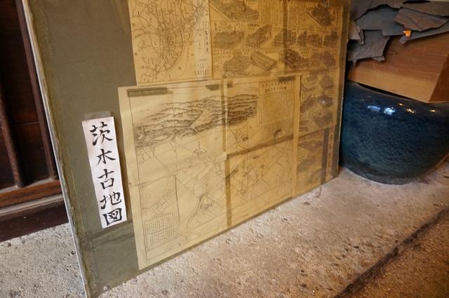 福嶋屋さんの茨木古地図DSC02223